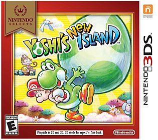 Nintendo Selects: Yoshi's New Island - 3DS