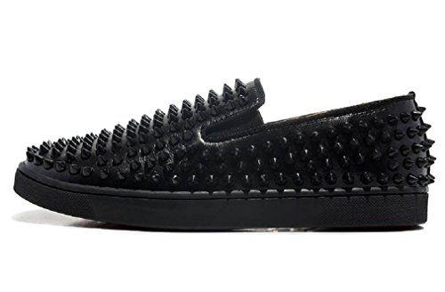 Black Sheepskin Men Spike Low Sneakers (US 7 / EUR 40) KO... https://www.amazon.com/dp/B06XZWCDV1/ref=cm_sw_r_pi_dp_x_iBggzbSR5D60G