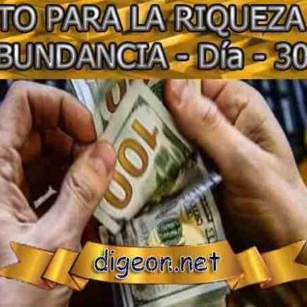 RETO PARA LA RIQUEZA Y ABUNDANCIA – Día 30º – #30º #abundancia #Día #LA #par…
