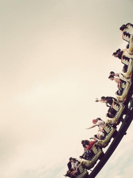 Summer Adventure: Ride a rollercoaster