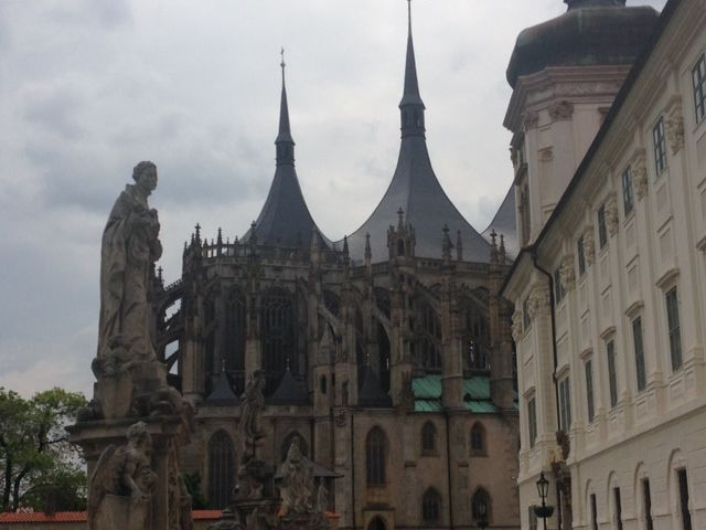 St. Barbora Cathedral in Kutna Hora