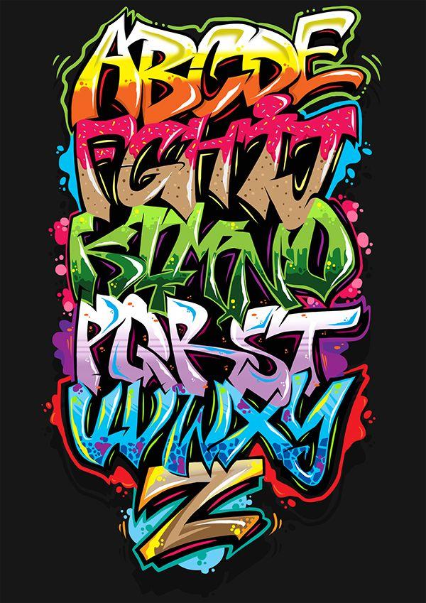 Graffitis , LETTRES