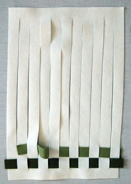 Jogo americano de feltro ou tecido