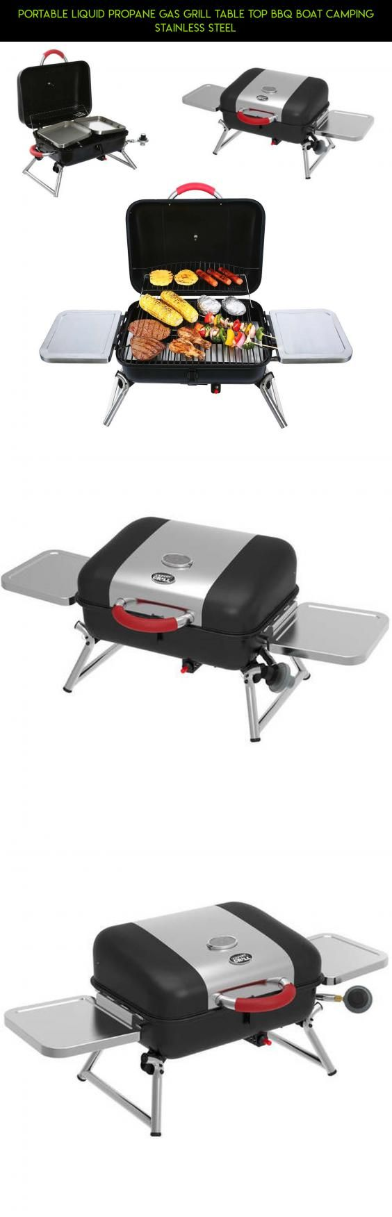 Portable Liquid Propane Gas Grill Table Top BBQ Boat Camping Stainless Steel #drone #table #technology #camera #kit #fpv #parts #shopping #tech #propane #plans #racing #gadgets #top #grills #products