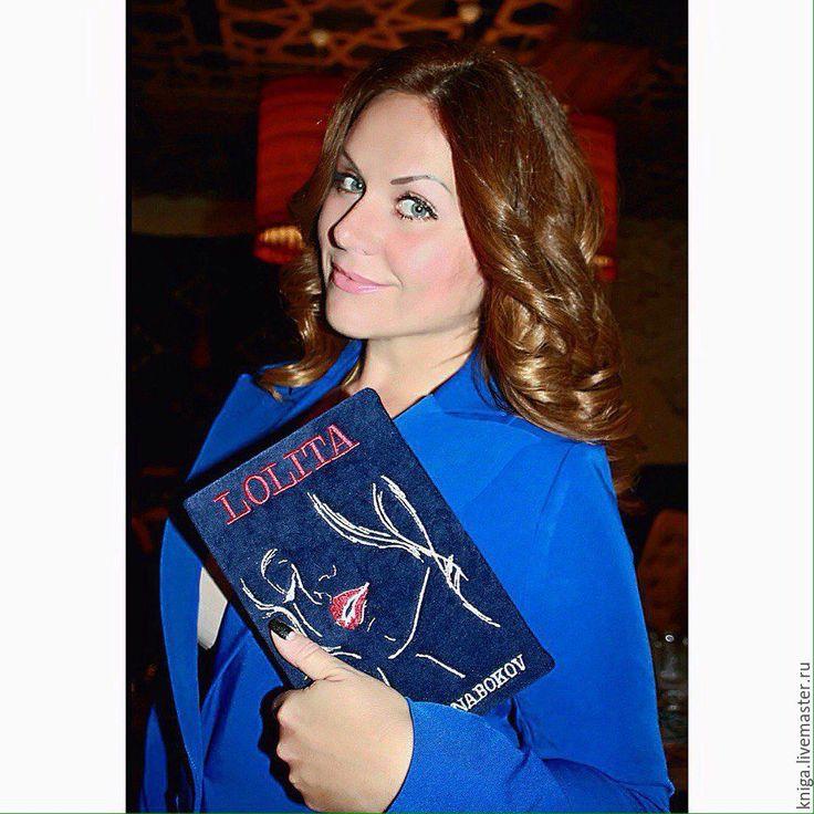 """Купить клатч-книга """"ЛОЛИТА"""" - тёмно-синий, клатч, клатч ручной работы, клатч-книга"""