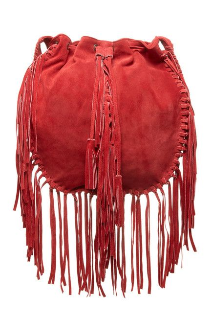 Red and fringe!