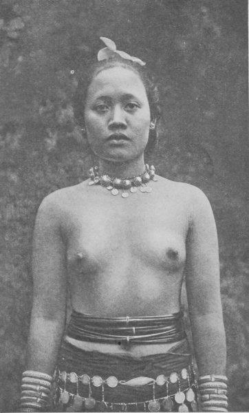 Dayak Woman, 1935