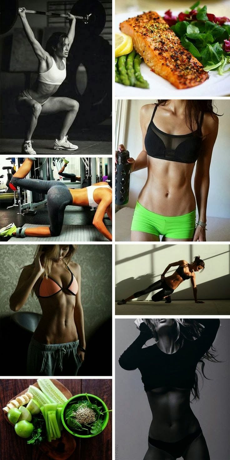 Fitness inspiration. There is no quick or easy fix! Eat clean, work hard, and drink water