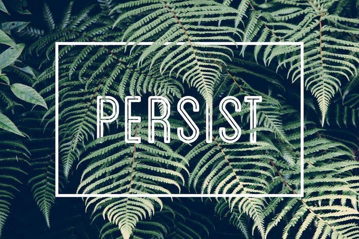 Persist Free Desktop Wallpaper Graphic Design Simple Minimalistic