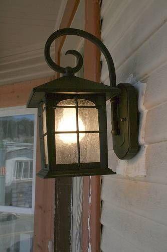 19 best Cabin porch lights images on Pinterest Outdoor walls