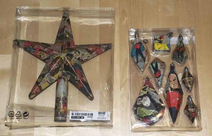 Star Trek Christmas ornaments #DIY