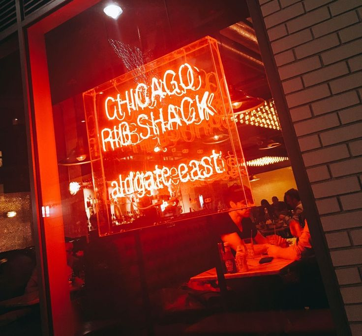 Feasting at Chicago Rib Shack, Aldgate East