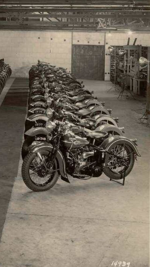 Factory motorcycles