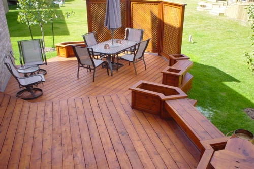 Nice deck color
