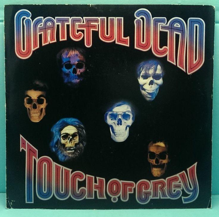 GRATEFUL DEAD - Touch of Grey - 45 rpm Grey Vinyl 1978 Poster Cover J Garcia $4.00