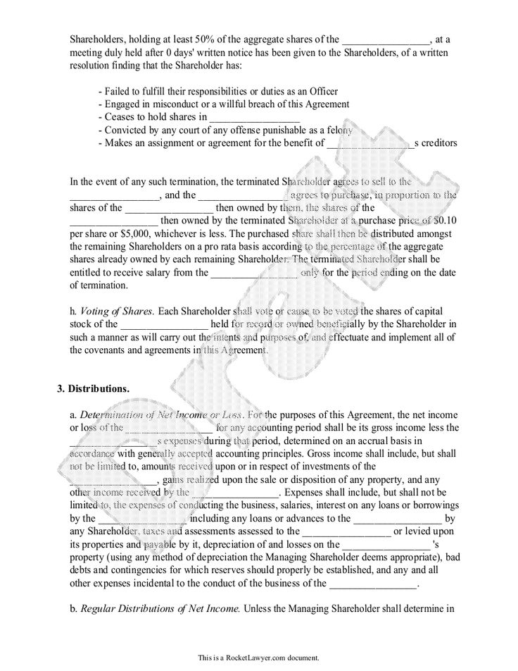 Investors Agreement - Investor Contract Agreement (Form With - investor contract sample