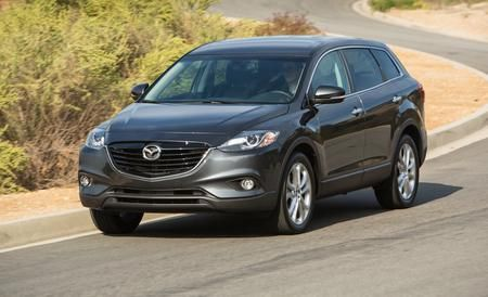 Instrumented test of the face-lifted 2013 Mazda CX-9 Grand Touring AWD. Read the review and see photos at Car and Driver.