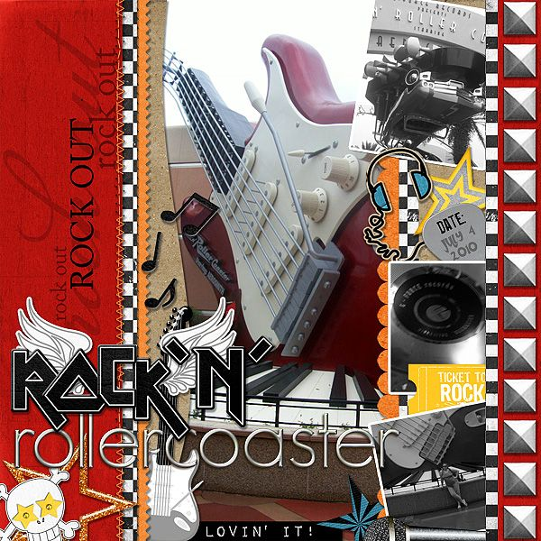 Bc Scrap It >> 17 Best images about Rock ' N' Roller Coaster on Pinterest | Disney, In the corner and Rock on