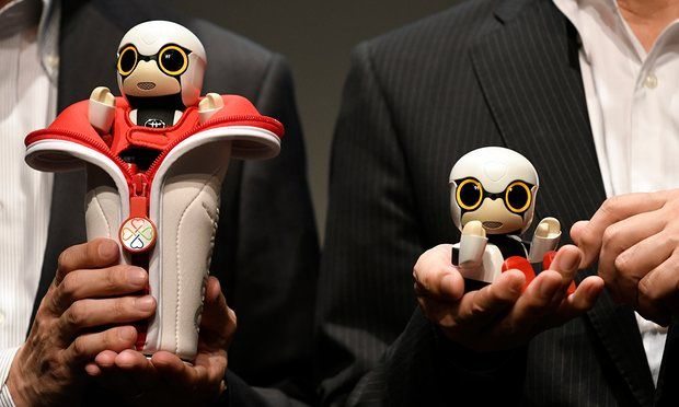 The Toyota company has developed cute robotic babies primarily for childless couples in Japan but these cute robotic babies can also be enjoyed by others.