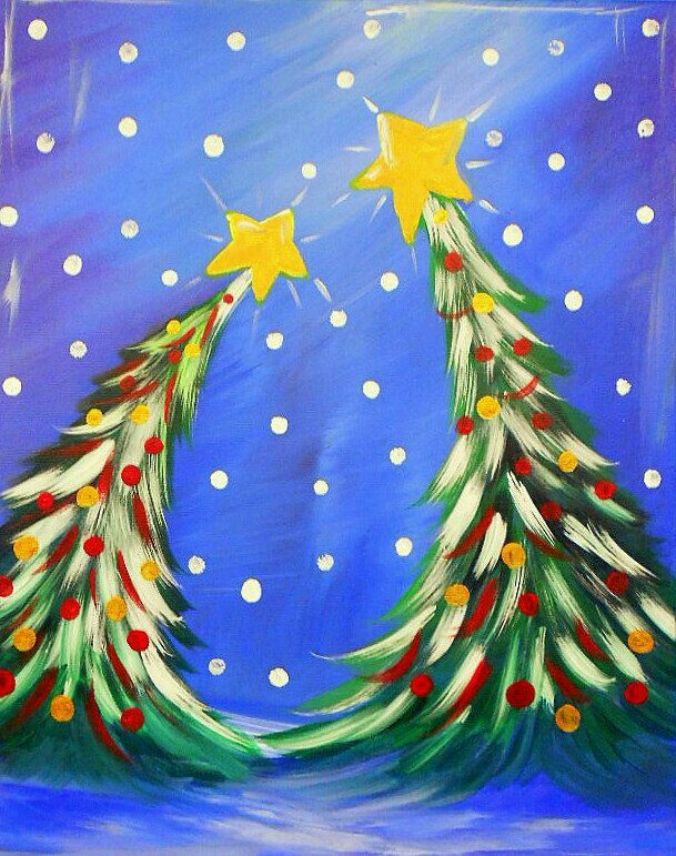 Pin By Faye Provis On Xmas Christmas Paintings