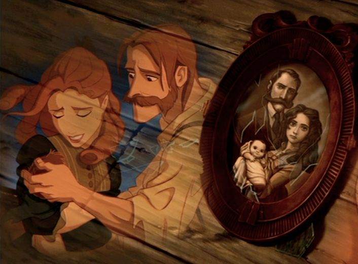 Are Frozen's King And Queen Actually Tarzan's Parents? Omg. Mind blown