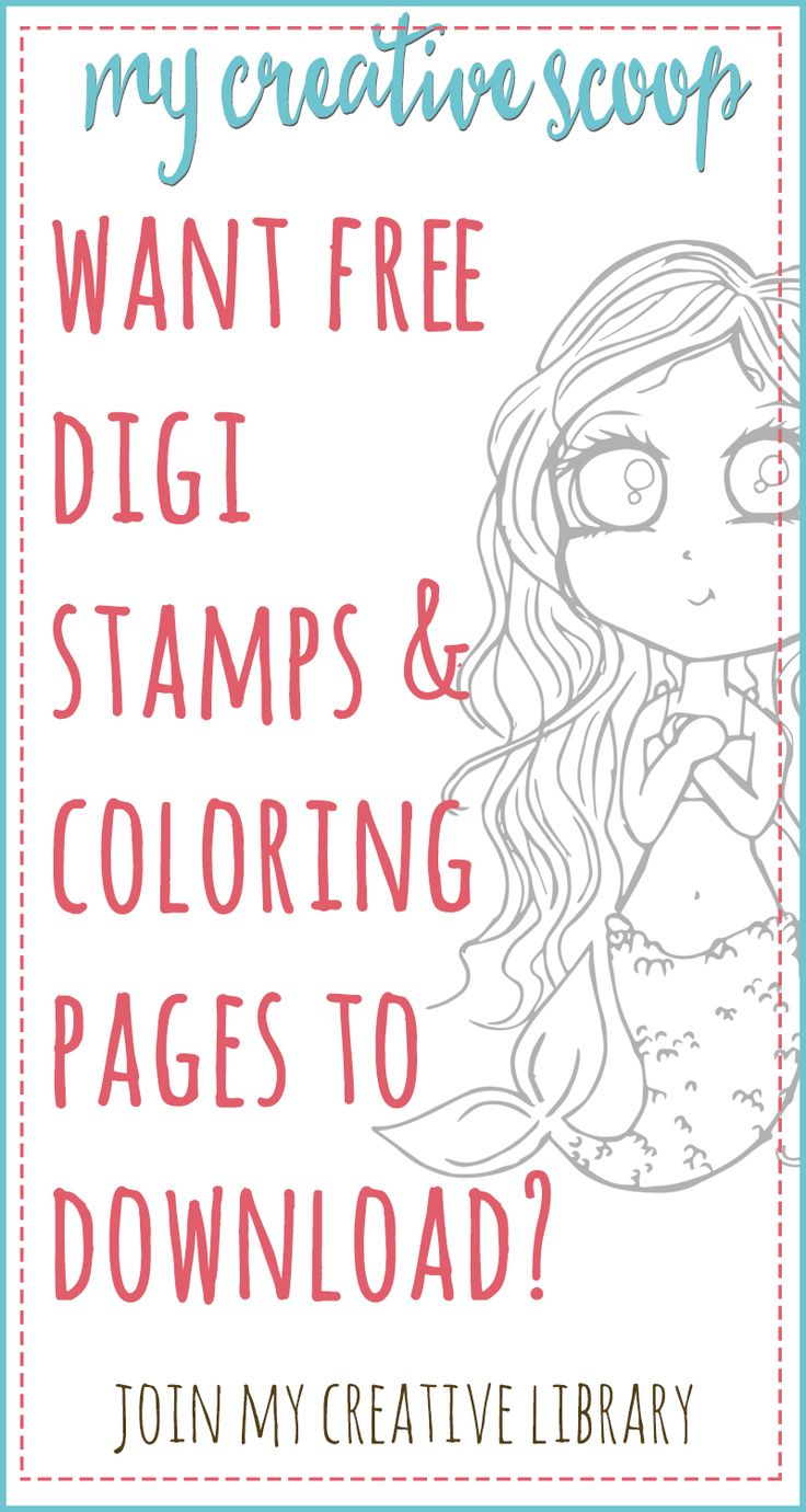 Do You Want Free Digi Stamps And Coloring Pages Sign Up FREE To Access My Creative
