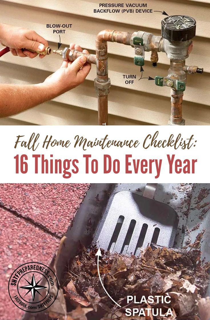best 25 home maintenance checklist ideas on pinterest household checklist new home checklist. Black Bedroom Furniture Sets. Home Design Ideas