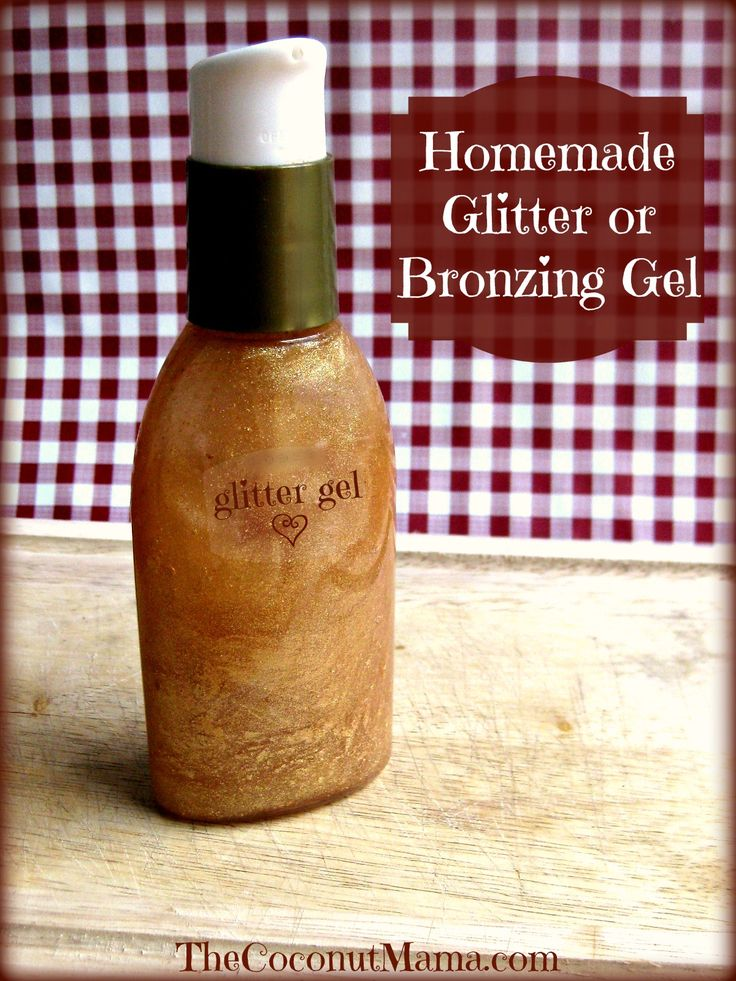 All Natural Glitter Gel!! (Just 2 ingredients and you can pronounce both of them!) :)
