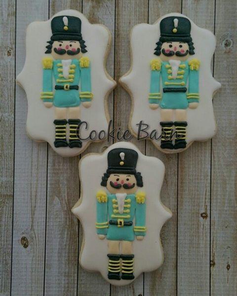 Nutcracker Decorated Cookies #nutcracker #ediblegifts #edible art #decoratedcookies #tucsoncookiecompany #toysoldier #ballet #birthdayparties #birthdayplanning #momswithkids #partyfavors
