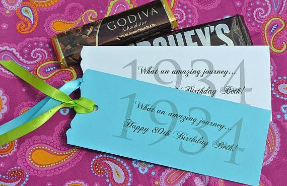 Adult birthday party favors mom 39 s 80th birthday party for 80th birthday decoration