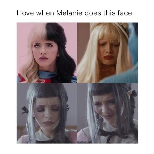 She's so cute when she makes this face #melaniemartinez