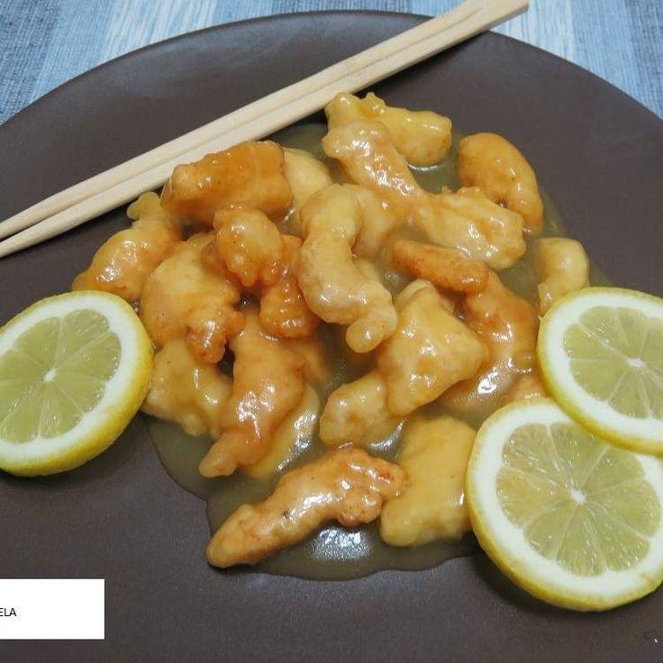 Receta pollo al limon estilo chino thermomix