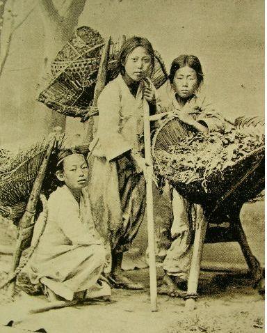 Working Children - Joseon Period