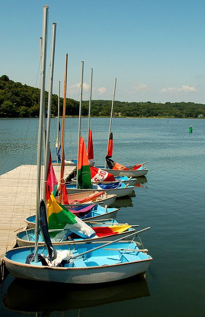 Colorful Sailboats. making some in the near future!