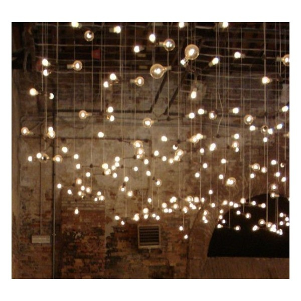 Simple Decorating String Lights ❤ liked on Polyvore