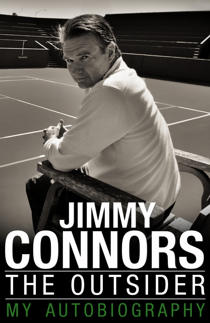tennis legend jimmy connors came in to qvc to promote his autobiography the