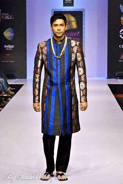 Sagar Tenali designer sherwani collection