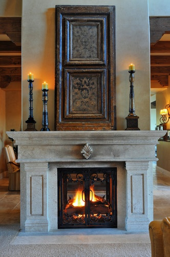 1000 ideas about mediterranean living rooms on pinterest for Mediterranean fireplace designs