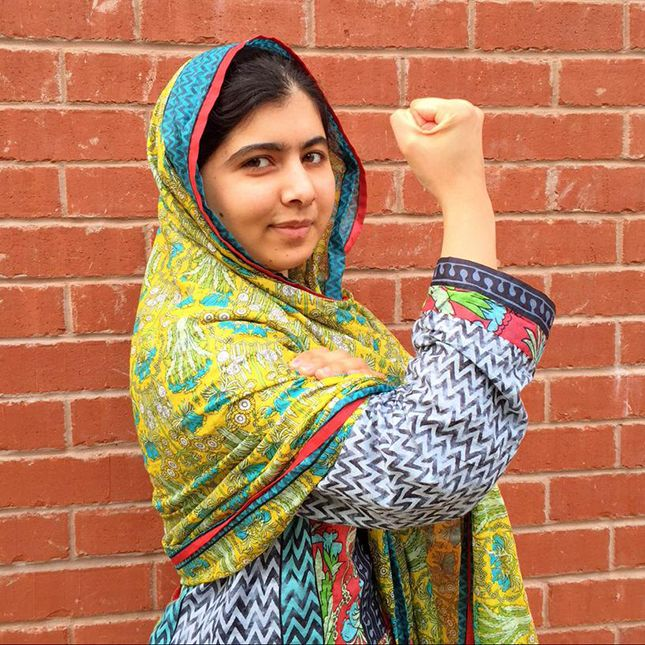 Malala Is Starting a Whole New Selfie Trend You Need to Get Behind via Brit + Co.