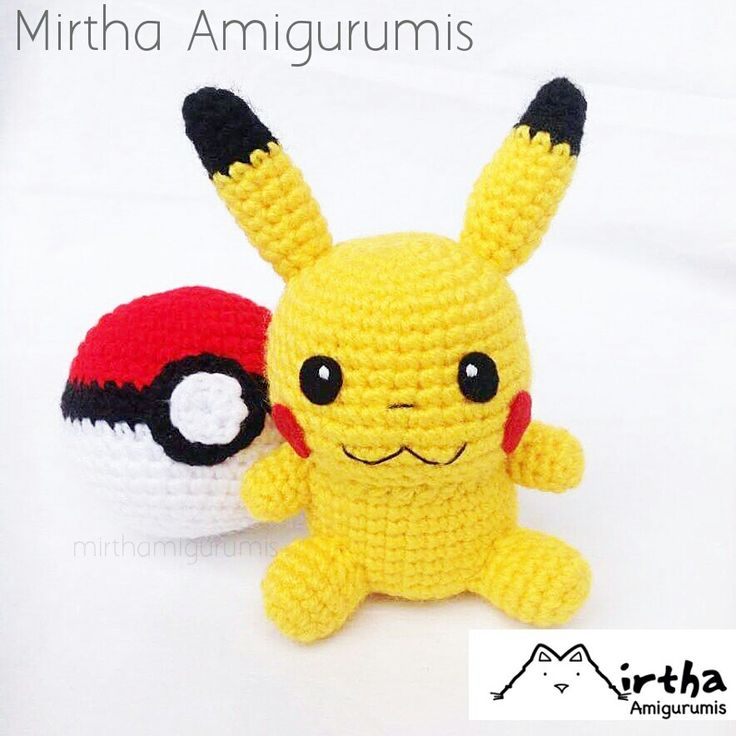 Chibi Pikachu Amigurumi : 17 Best images about Amigurumis anime on Pinterest Chibi ...