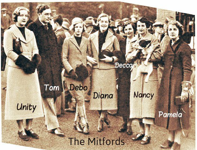A Look at the Lives and Loves of the Mitford Sisters - http://www.warhistoryonline.com/war-articles/look-lives-loves-mitford-sisters.html
