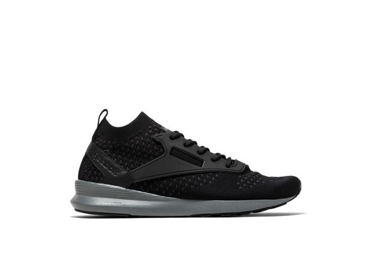 Zoku runner ULTK IS Sneakers color black-zoku runner ultk htrd sneakers with black knit upper. dmx lite midsole. abrasion resistant rubber sole. height of sole: 1 cm. height of heel: 3 cm.