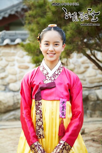 The Moon That Embraces the Sun ♥ - young Bo Kyung (Kim So Hyun) - The second Moon, Bo Kyung was used as a tool by the Dowager Queen to achieve more power by trying to make her the Crown Princess, which was successful after Yeon Woo's supposed death. Later, she became the Queen.