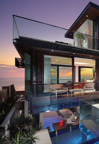 347 best Dream Home images on Pinterest   Modern homes, Facades and Dream Beach Houses Design P E A on