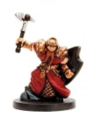 D&D Miniatures Dragoneye: 01/60 Cleric of Moradin C