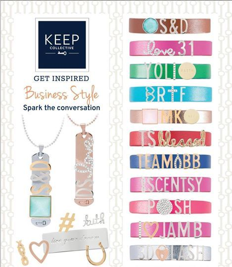 I've had so much fun helping other DS entrepreneurs design a keeper for themselves or team members....what a perfect marketing resource to wear!!!! Explore KEEP @ www.keep-collective.com/with/Shannon