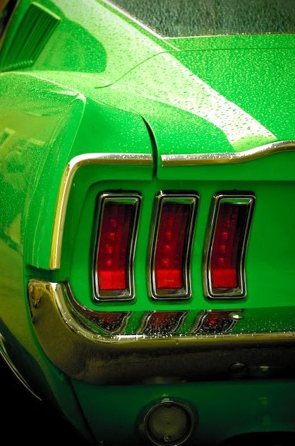 1967 Mustang. So special, like you didn't know that.