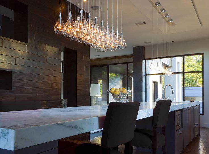 Alternative Decor For A Modern Kitchen Chandelier With An Extravagant And Original Design