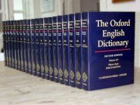 Oxford English Dictionary (OED): The <i>Oxford English Dictionary</i>, 2nd ed. (Oxford University Press, 1989)