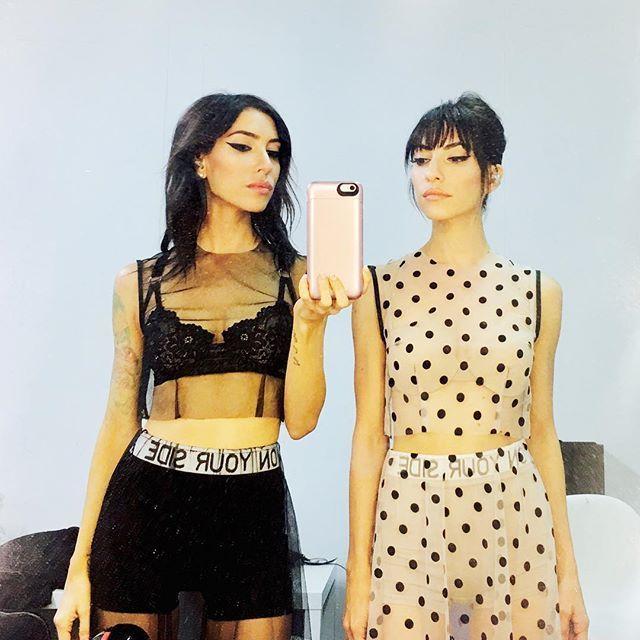 The Veronicas. Australian twin sisters Jess & Lisa